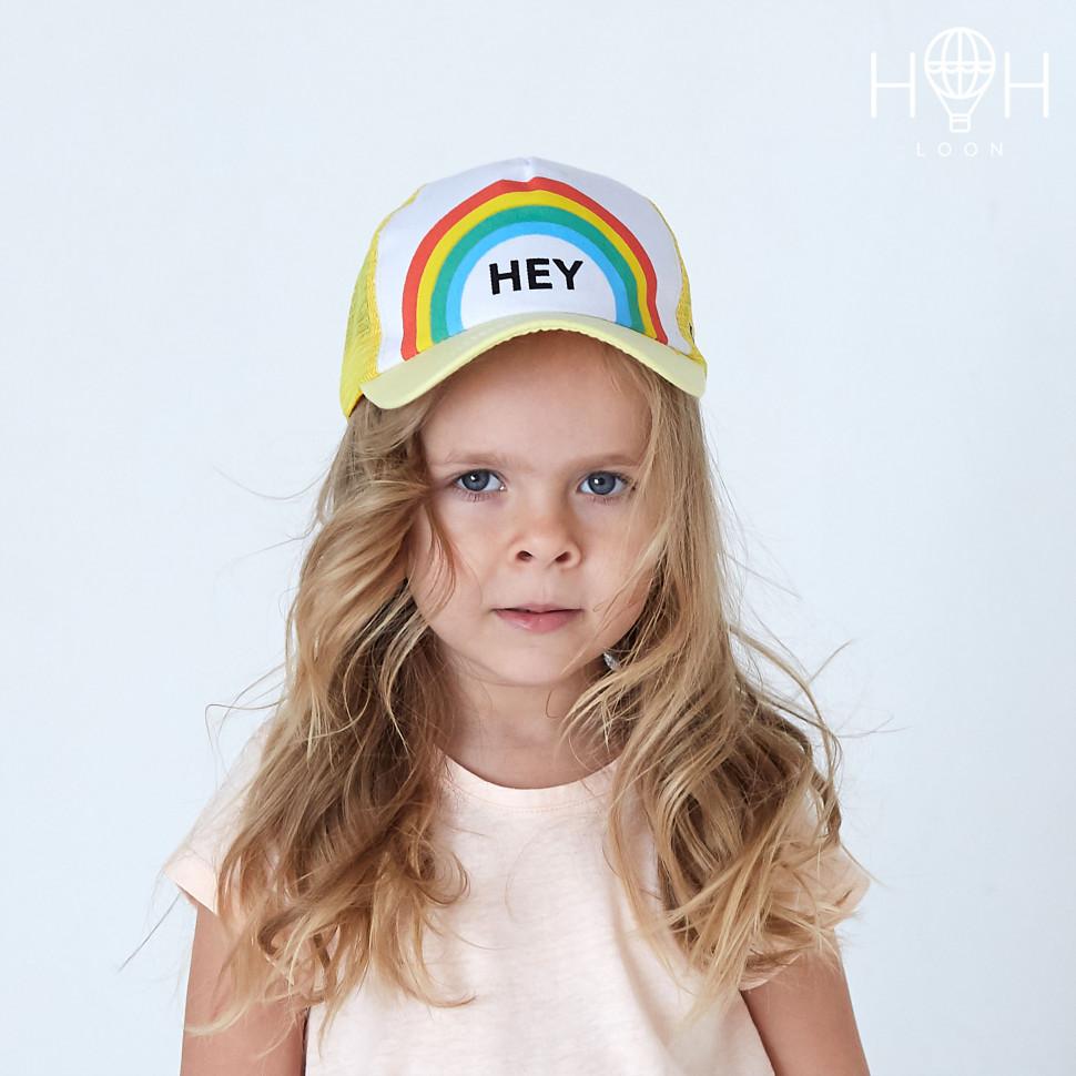 КЛ19к- Кепка Hey, желтый