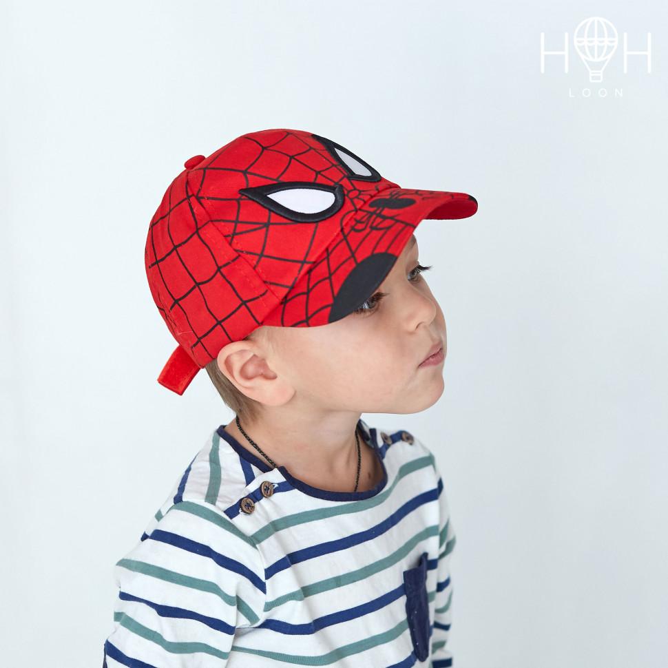 КЛ19к- Кепка паук, красный