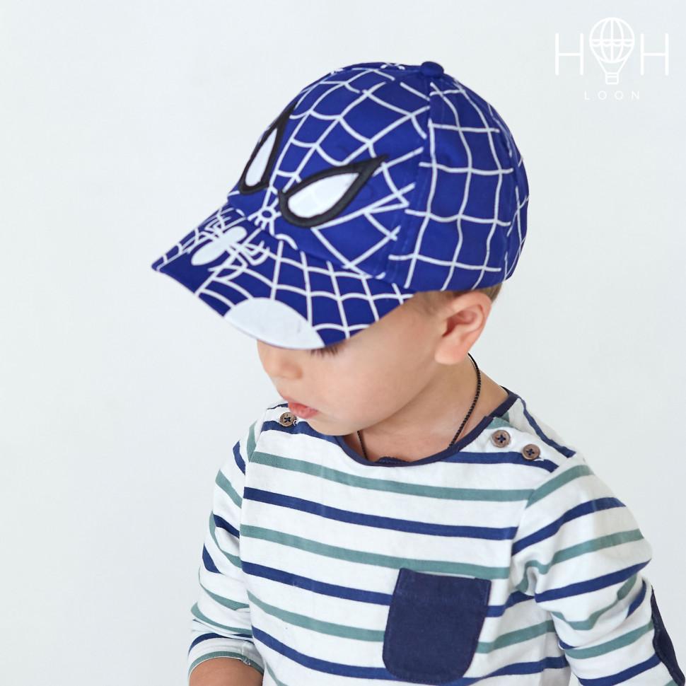 КЛ19к- Кепка паук, синий