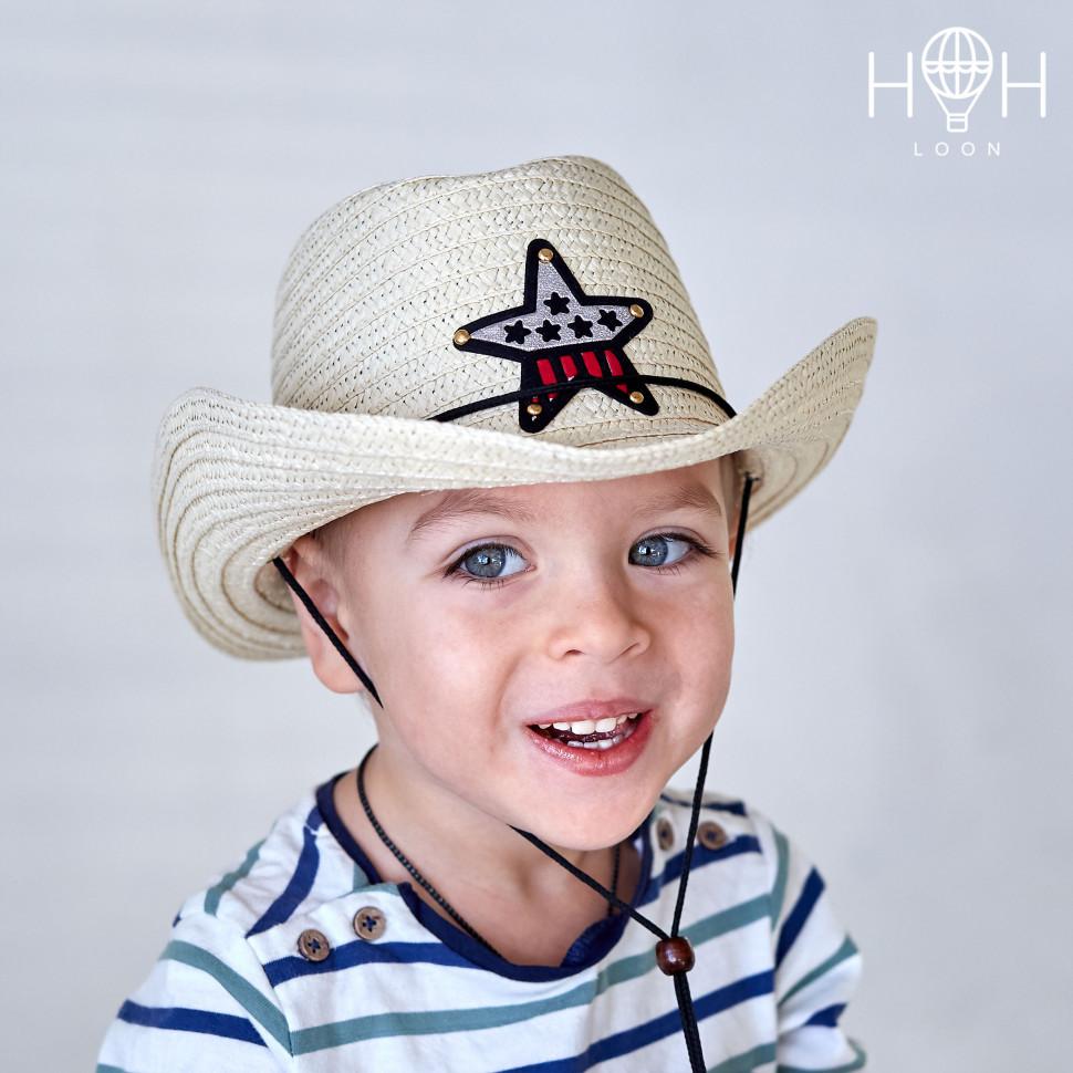 ШЛ19к- Шляпа Шериф, молочный