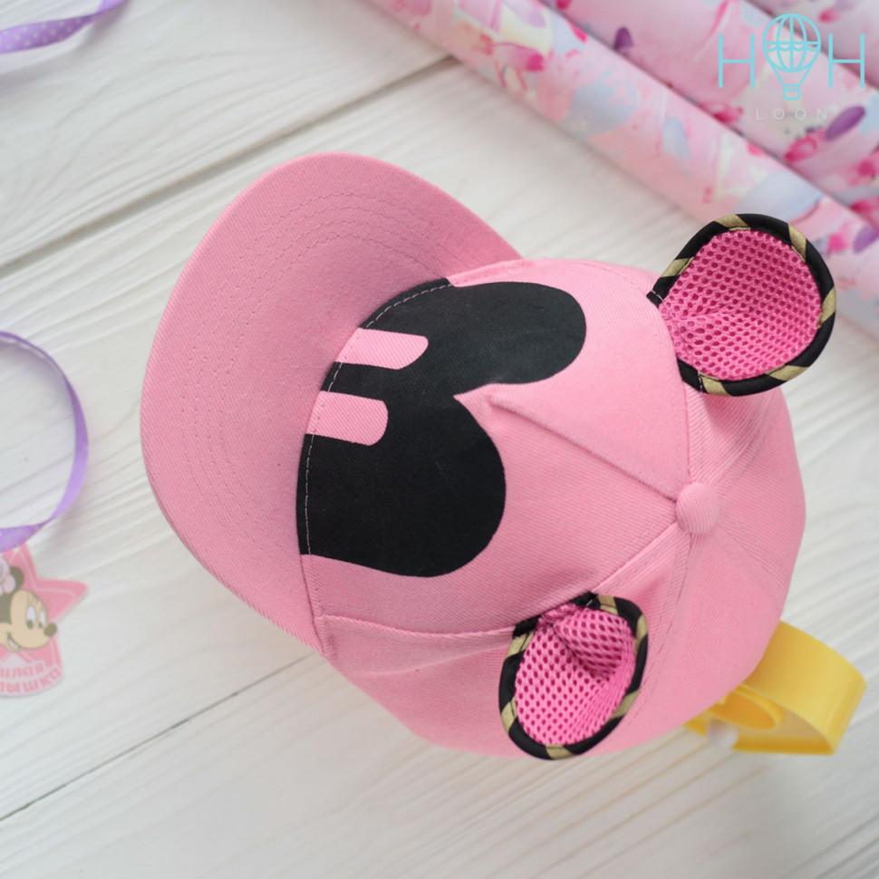 ПГЛ20-02310090 Кепка мышка, розовый